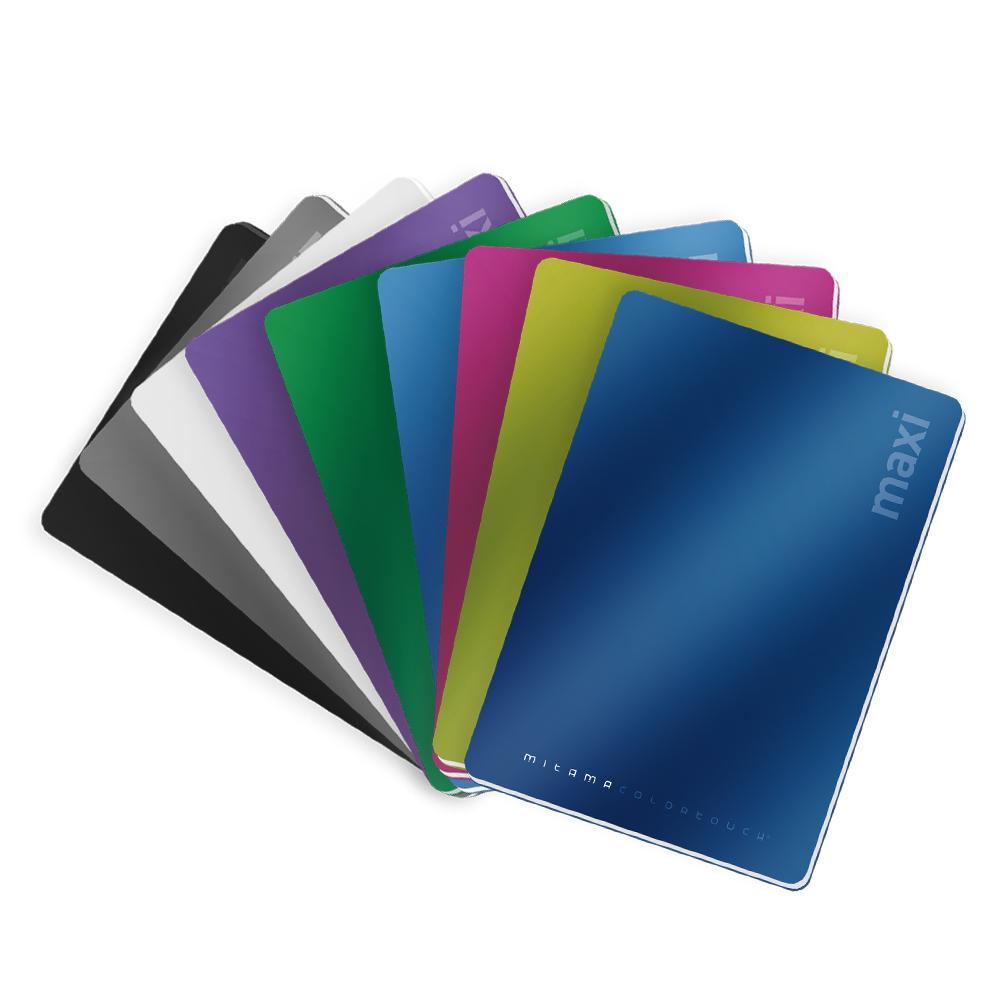 quaderni  Colortouch - Maxi quaderni rigature assortite [62012-15] - Mitama