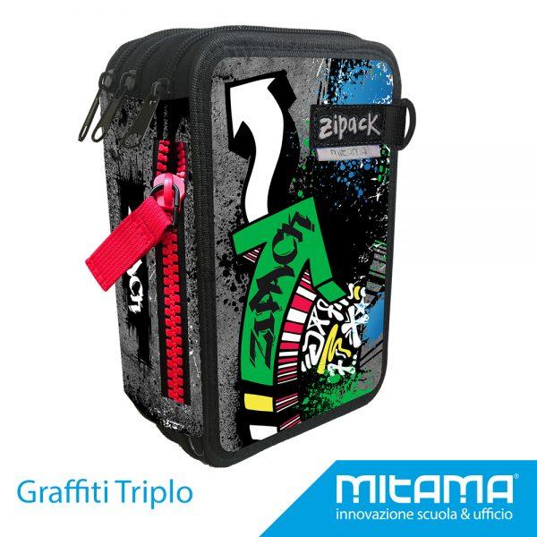 Graffiti triplo