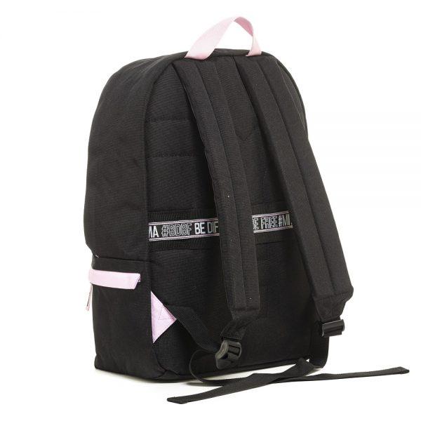 mitama-zaino-color-touch-nero-rosa-retro-63427