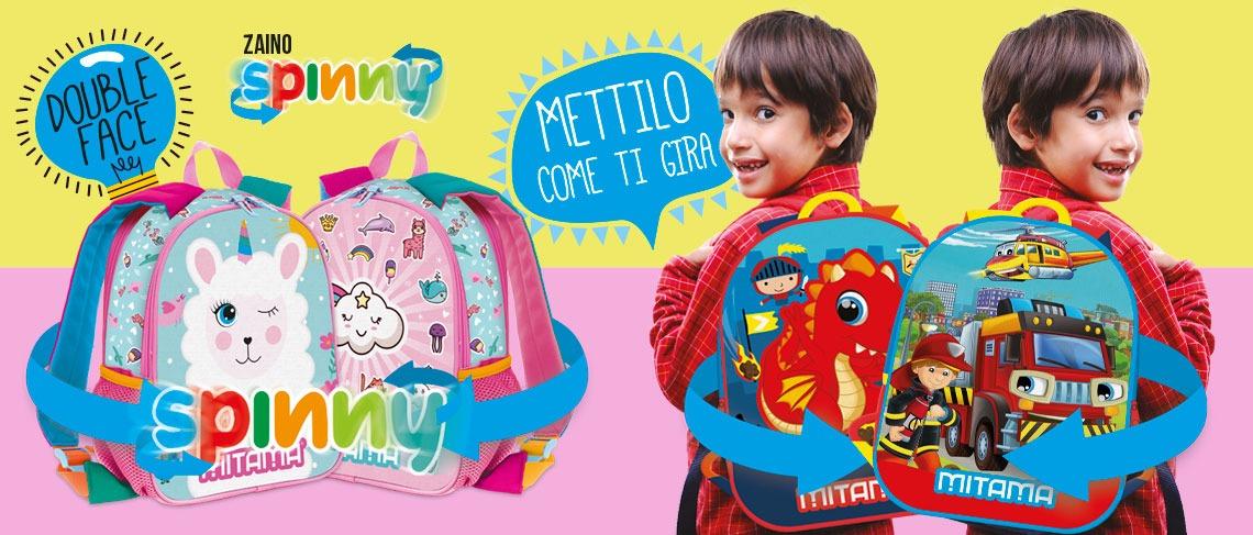 immagine di copertina dello zaino spinny Mitama
